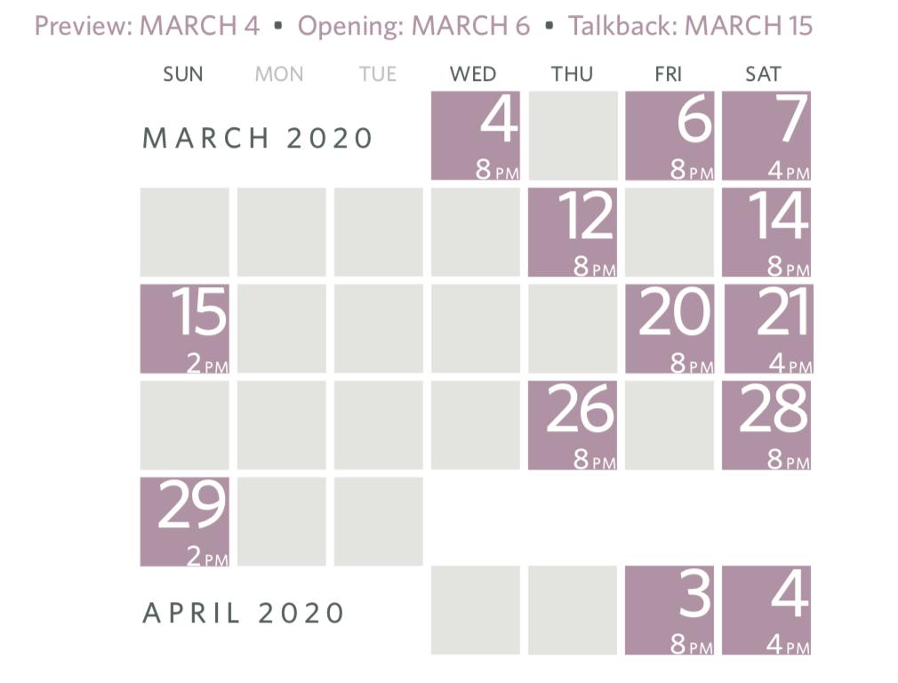 Baltimore Waltz schedule
