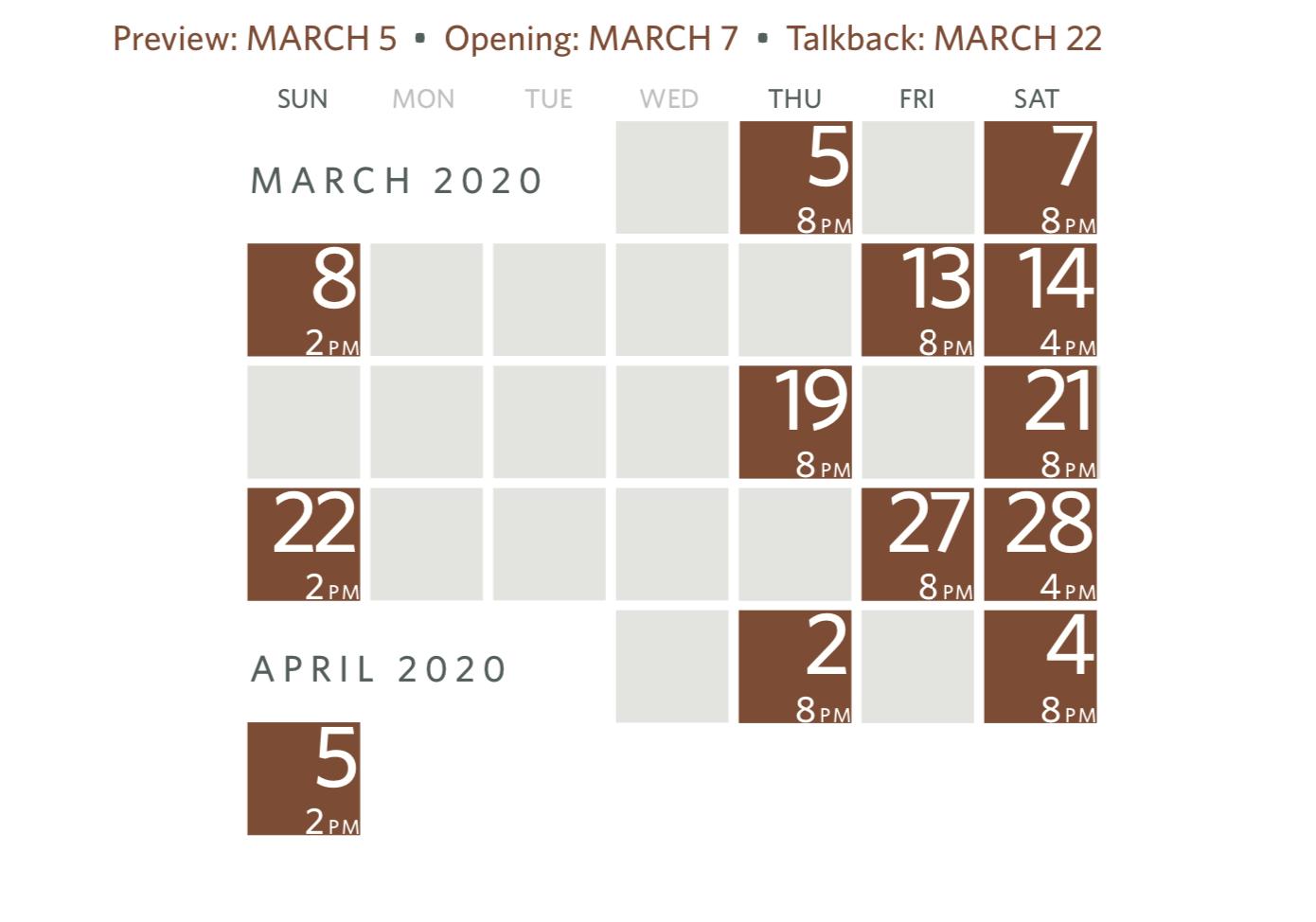 Confession calendar (revised)