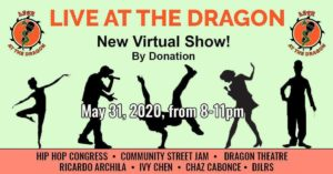 Live at the Dragon Online in May