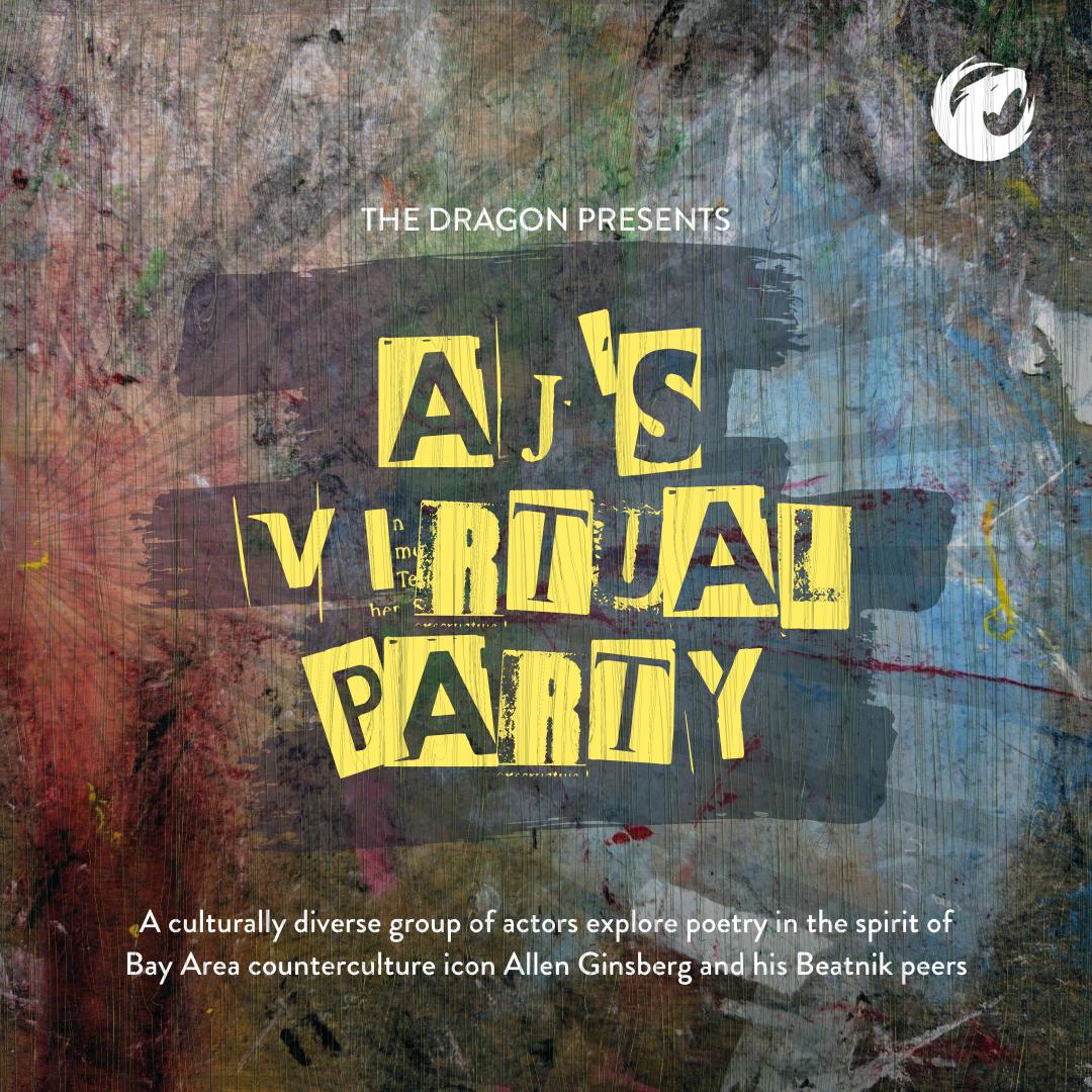 Aj's Virtual party banner