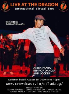 Zebra Pants poster